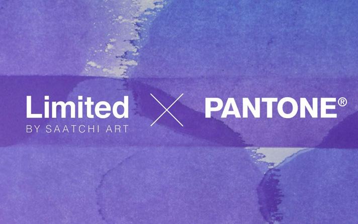 Limited Saatchi Art x Pantone