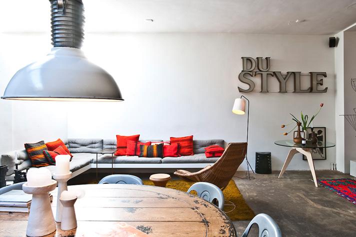 Appartamento olandese etnico metropolitano