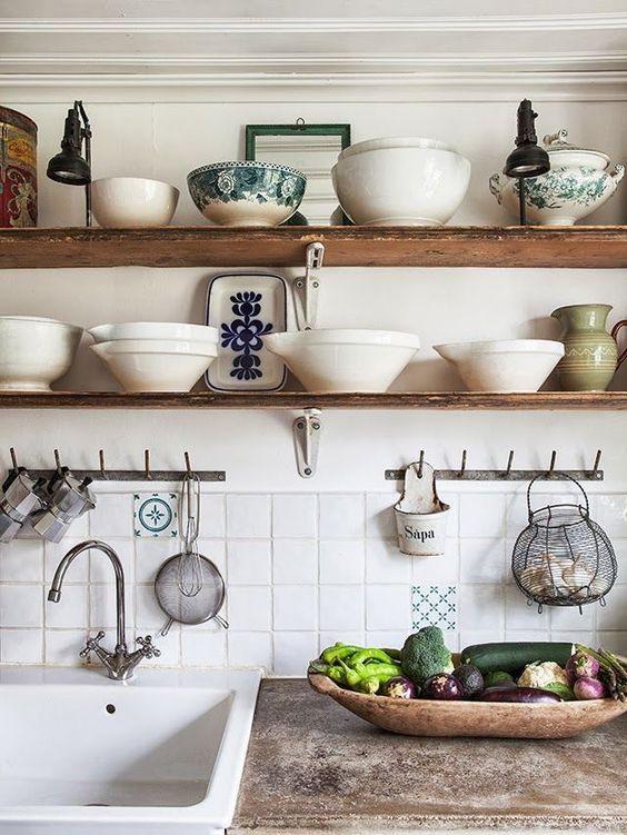 La cucina trendy del 2018? Assolutamente con mensole a vista ...