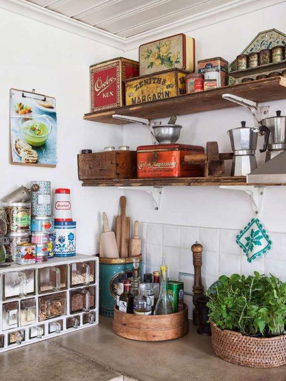 La cucina trendy del 2018? Assolutamente con mensole a vista - Tanji
