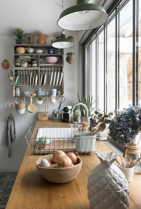 Cucina - mensola - shabbychic