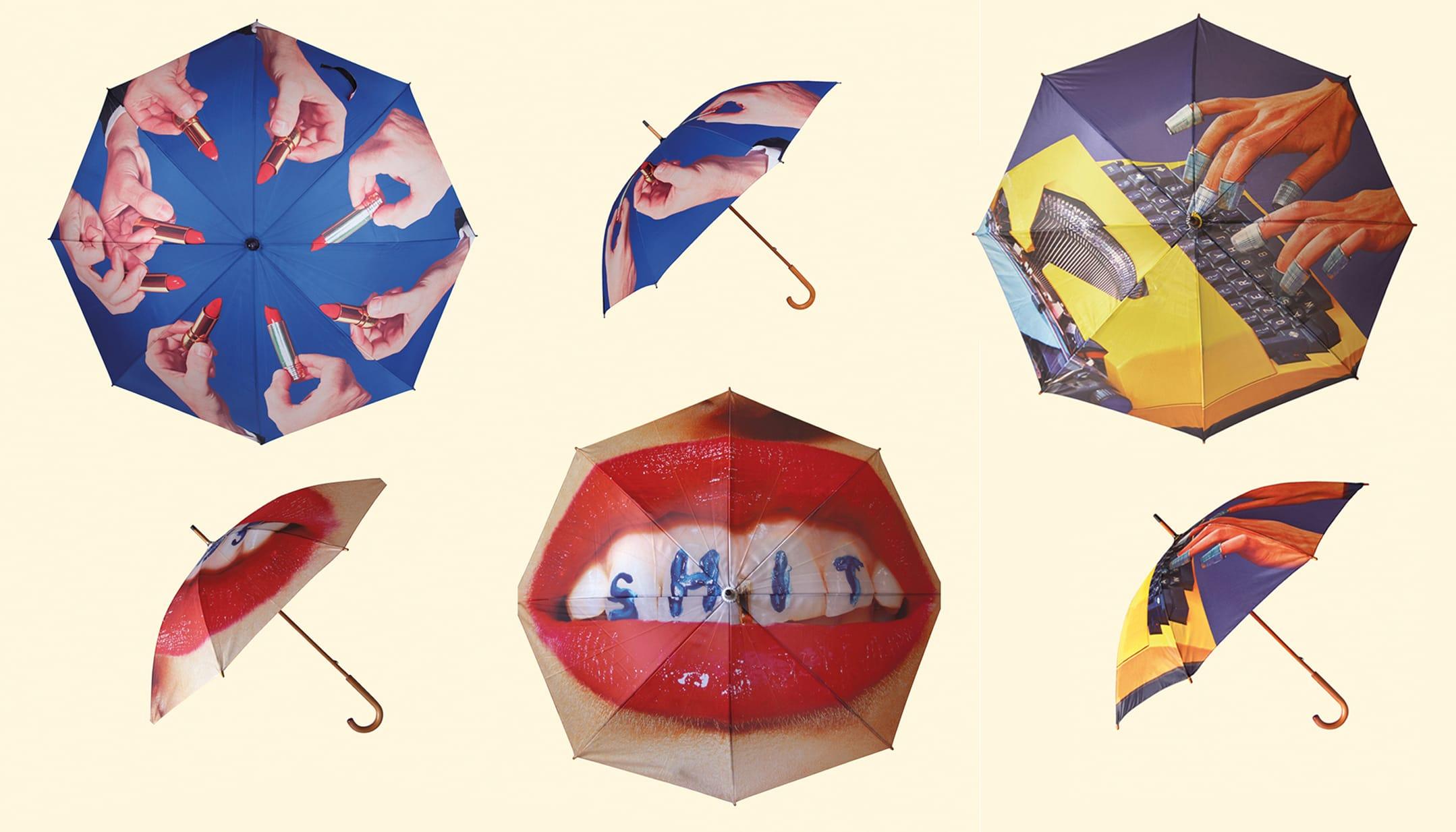 Toiletpaper Seletti ombrelli