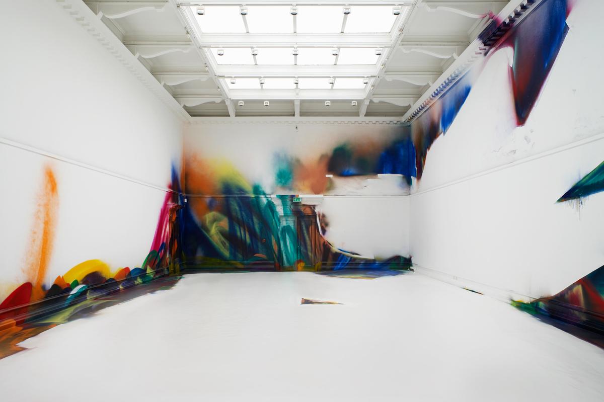 Opere di Katharina Grosse
